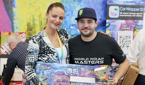 Austríaco levou o prêmio de melhor instalador de campeonato promovido pela Fespa