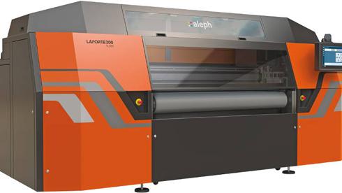 LaForte 600 estampa diretamente em tecidos