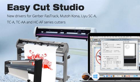 Software passou a suportar novos modelos da Mutoh, Gerber e Liyu