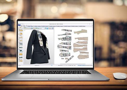 Versão 12.1 do AccuMark permite a visualização de designs em 3D