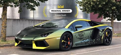 Concurso de envelopamento automotivo é realizado anualmente pela Avery Dennison