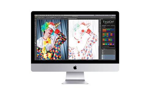 Touch7 Photo ECG simplifica o trabalho com tintas ECG