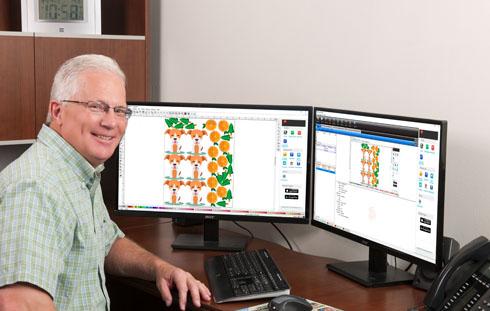 O software de processamento de imagens cumpre papel fundamental na impressão digital