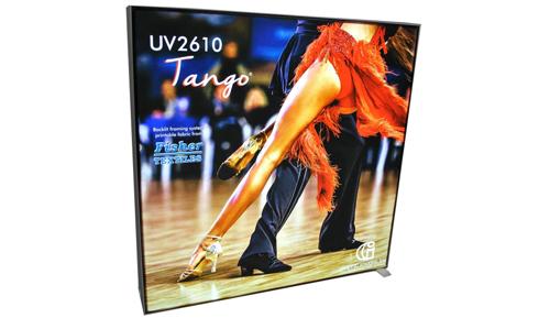 UV2610 Tango pode ser estampado com impressoras UV ou látex
