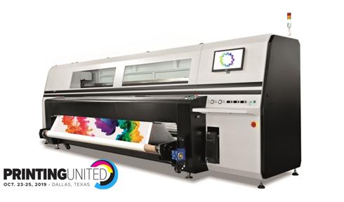 Panthera S4 pode imprimir diretamente sobre os alguns tecidos