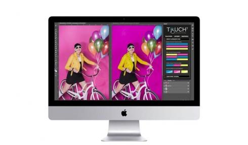 O Touch7 Photo Neon possibilita a reprodução de cores especiais