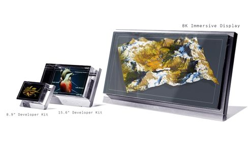 Looking Glass 8K é display imersivo para interação colaborativa