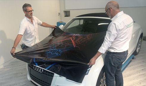 Grafiprint GT38SL vem com tecnologia de escape de ar, que evita formação de bolhas na aplicação