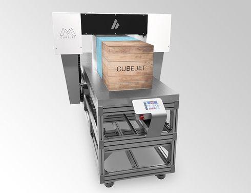 Matrix Cubejet imprime grande diversidade de materiais