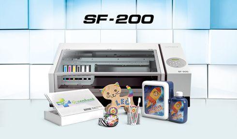 SF-200 é capaz de imprimir ampla variedade de mídias