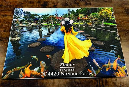 DD 4420 Nirvana Purity tem o dorso revestimento com pigmentos brancos