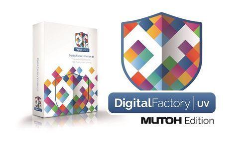 Digital Factory UV – Mutoh Edition foi desenvolvido para as ValueJet 426UF e 626UF