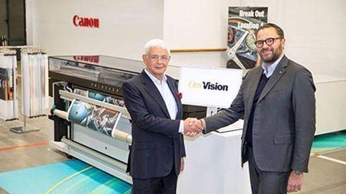 Impressoras Arizona integrarão software de fluxo de trabalho OneVision
