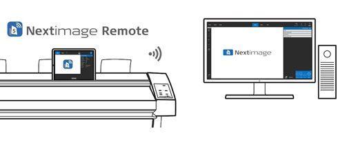 Nextimage Remote roda em dispositivos móveis