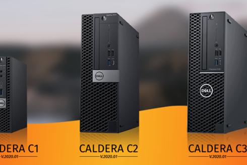 Computadores têm configurações ideais para rodar softwares da Caldera
