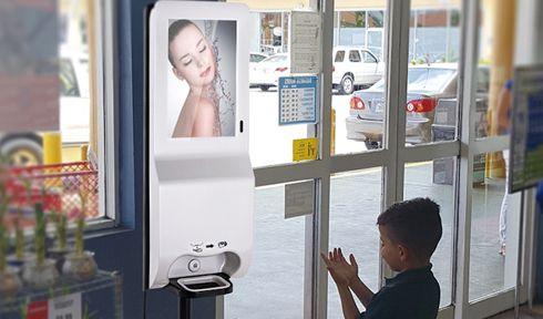Displays informam e ajudam a manter a saúde do público
