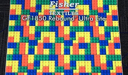 GF1850 Rebound Ultra Lite pode ser usada como carpete