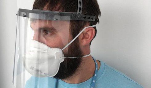 Protetor facial pode ser fabricado por impressoras 3D