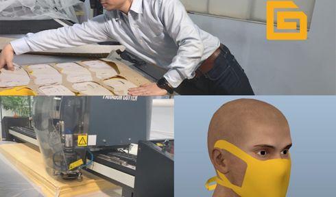 Pacote tem soluções de corte e software específicas para a produção de EPIs