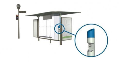 Pontos de ônibus e banheiros foram equipados pela JCDecaux