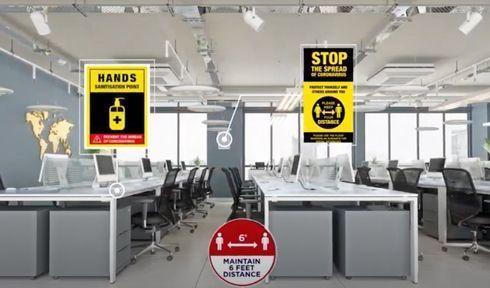 ARC Print App ajuda os donos de lojas e estabelecimentos na busca pelas melhores soluções de distanciamento