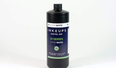 Vivid White é indicada para imprimir mídias escuras
