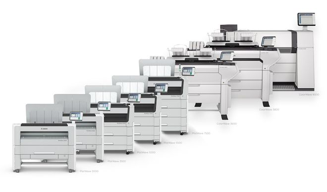 Impressoras técnicas reproduzem trabalhos diversos em escritórios corporativos