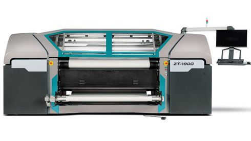 ZT-1900 tem 1,9m de largura de impressão