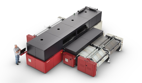 InterioJet 3300 emprega tinta à base d'água