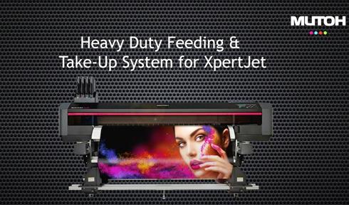 Dispositivo é opcional para impressoras XpertJet