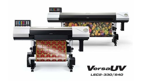 Modelos VersaUV LEC2 imprimem e cortam