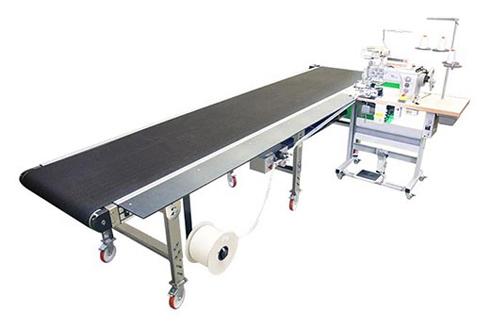 Equipamentos executam acabamento em tecidos e termoplásticos