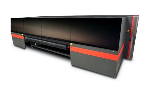 impressora inclui novo transporte de mídia que elimina a necessidade de guias