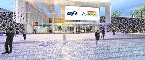 EFI Engage apresentou inovações de impressão digital e de software de workflow