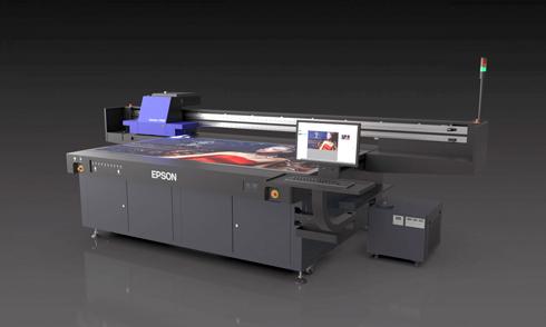 SureColor V7000 pode vir com 10 opções de tinta