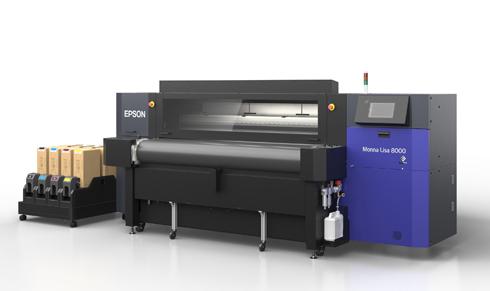 Com 8 cabeças, impressora é modelo de entrada