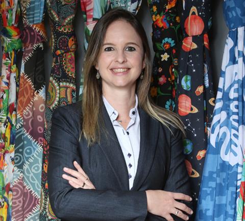 Entrevista com Evelin Wanke, diretora de vendas da Epson Brasil. Crédito da foto: Yuri Mine