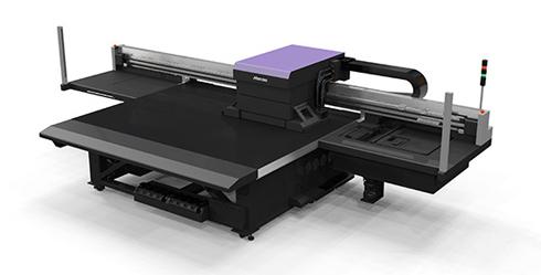 JFX600-2513 e JFX550-2513 imprimem em mídias com até 60 mm de espessura