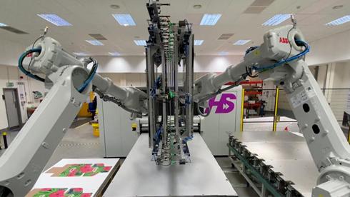 Inovação é tecnologia robótica de carregamento de mídias
