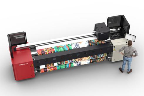 Equipamento pode imprimir diretamente em tecido ou em papel de transferência