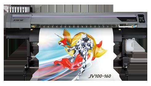 Impressora ecossolvente tem largura de 1,6m