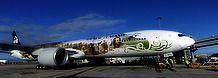 Avião ganha envelopamento especial para divulgar filme O Hobbit