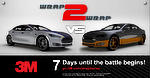 3M promove campeonato de envelopamento de carros