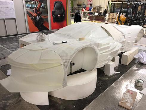 Veículo foi confeccionado com peças impressas em 3D de grande formato 1658dc3130